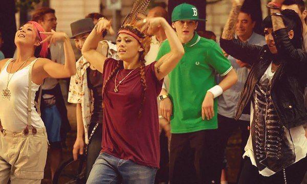 Уличные баттлы в танцах